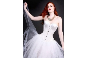 Overbust Corsets Burlesque Diva Celebrate Burlesque - Costumes, Shoes, and Accessories for Performers