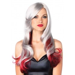 Allure Multi Color Wig with Color Tips Burlesque Diva Celebrate Burlesque - Costumes, Shoes, and Accessories for Performers