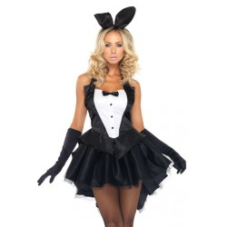 Tux and Tails Bunny Costume Burlesque Diva Celebrate Burlesque - Costumes, Shoes, and Accessories for Performers