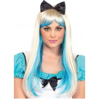 Alice Costume Wig with Bow
