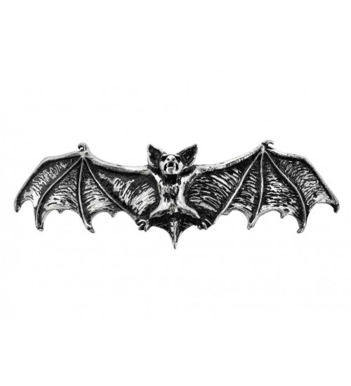 Darkling Bat Pewter Hair Slide at Burlesque Diva, Celebrate Burlesque - Costumes, Shoes, and Accessories for Performers