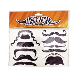 Mustache Temporary Tattoos Burlesque Diva Celebrate Burlesque - Costumes, Shoes, and Accessories for Performers
