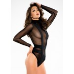 Skye Seductive Cheeky Black Bodysuit at Burlesque Diva, Celebrate Burlesque - Costumes, Shoes, and Accessories for Performers