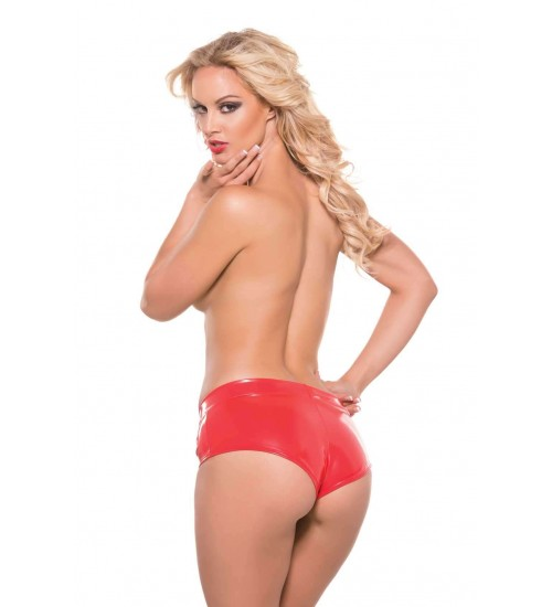 Red Hot Short Second Skin Shorts at Burlesque Diva, Celebrate Burlesque - Costumes, Shoes, and Accessories for Performers