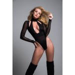 Black Tia Bodysuit at Burlesque Diva, Celebrate Burlesque - Costumes, Shoes, and Accessories for Performers