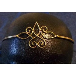 Bronze Circlet with Swirls Burlesque Diva Celebrate Burlesque - Costumes, Shoes, and Accessories for Performers