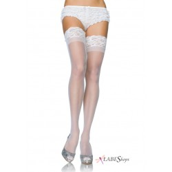 Sheer Stay Up Thigh High Stockings Burlesque Diva Celebrate Burlesque - Costumes, Shoes, and Accessories for Performers