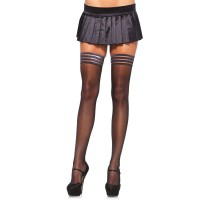 Stay Up Sheer Thigh High Stockings  - Pack of 3