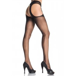 Sheer Suspender Pantyhose - Pack of 3 Burlesque Diva Celebrate Burlesque - Costumes, Shoes, and Accessories for Performers