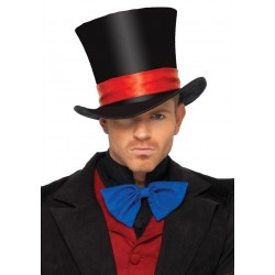 Mens Oversized Velvet Top Hat Burlesque Diva Celebrate Burlesque - Costumes, Shoes, and Accessories for Performers