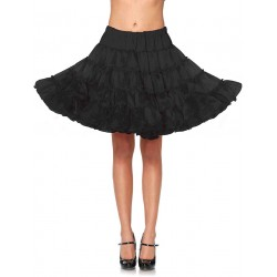 Black Knee Length Deluxe Crinoline Petticoat Burlesque Diva Celebrate Burlesque - Costumes, Shoes, and Accessories for Performers