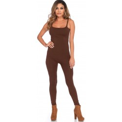 Basic Womens Unitard in Brown Burlesque Diva Celebrate Burlesque - Costumes, Shoes, and Accessories for Performers
