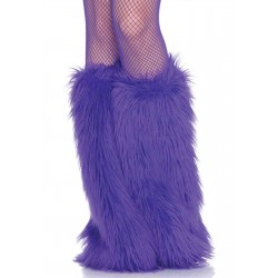 Fun Fur Leg Warmers Burlesque Diva Celebrate Burlesque - Costumes, Shoes, and Accessories for Performers