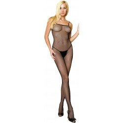 Seamless Spaghetti Strap Fishnet Bodystocking Burlesque Diva Celebrate Burlesque - Costumes, Shoes, and Accessories for Performers