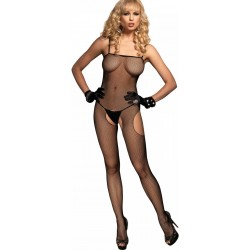 Spaghetti Strap Fishnet Suspender Bodystocking Burlesque Diva Celebrate Burlesque - Costumes, Shoes, and Accessories for Performers