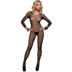Ringo Net Long Sleeved Bodystocking Burlesque Diva Celebrate Burlesque - Costumes, Shoes, and Accessories for Performers