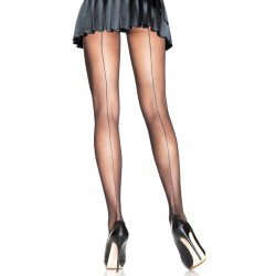 Backseam Sheer Pantyhose Burlesque Diva Celebrate Burlesque - Costumes, Shoes, and Accessories for Performers