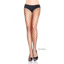 Fence Net Plus Size Black Pantyhose Pack of 3 Burlesque Diva Celebrate Burlesque - Costumes, Shoes, and Accessories for Performers