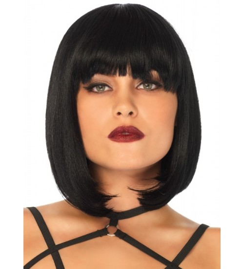 Short Natural Bob Wig at Burlesque Diva, Celebrate Burlesque - Costumes, Shoes, and Accessories for Performers