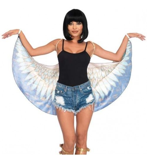 Egyptian Goddess Festival Wings at Burlesque Diva, Celebrate Burlesque - Costumes, Shoes, and Accessories for Performers