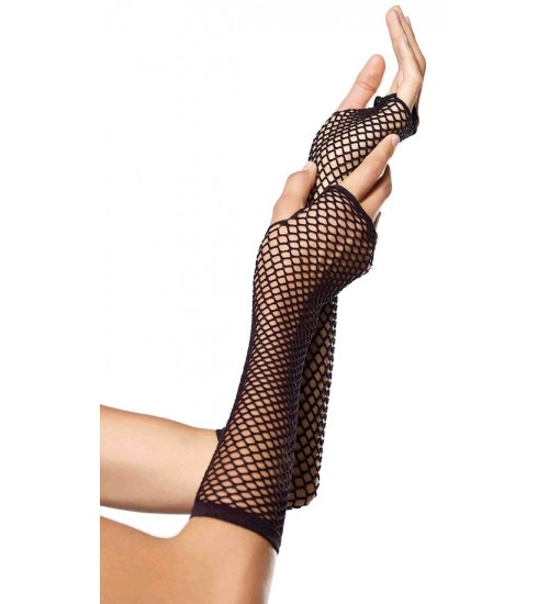 Black Triangle Net Fingerless Gloves at Burlesque Diva, Celebrate Burlesque - Costumes, Shoes, and Accessories for Performers