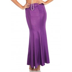 Purple Shimmer Spandex Mermaid Skirt Burlesque Diva Celebrate Burlesque - Costumes, Shoes, and Accessories for Performers
