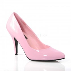 Baby Pink Classic Vanity Pump Burlesque Diva Celebrate Burlesque - Costumes, Shoes, and Accessories for Performers
